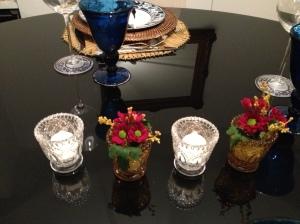 o centro de mesa