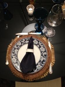 os lugares na mesa