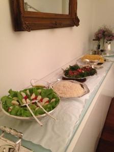 buffet de comidas