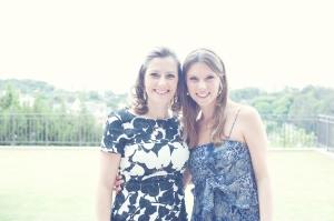 Minha irmã Camila e eu